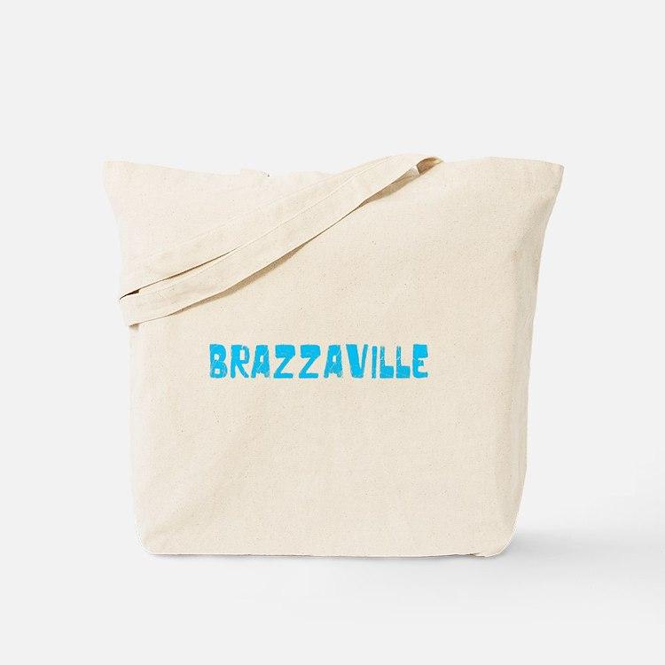 Brazzaville Faded (Blue) Tote Bag