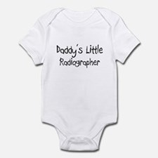Daddy's Little Radiographer Infant Bodysuit