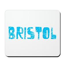 Bristol Faded (Blue) Mousepad