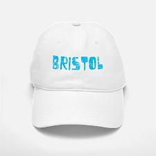 Bristol Faded (Blue) Baseball Baseball Cap