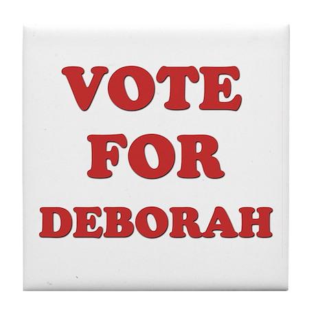 Vote for DEBORAH Tile Coaster