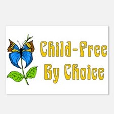 Child-Free By Choice Postcards (Package of 8)