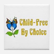Child-Free By Choice Tile Coaster