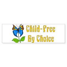 Child-Free By Choice Bumper Bumper Sticker