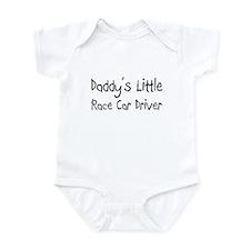Daddy's Little Race Car Driver Infant Bodysuit