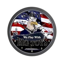 NAVY BIG TOYS T-shirts & Gift Wall Clock