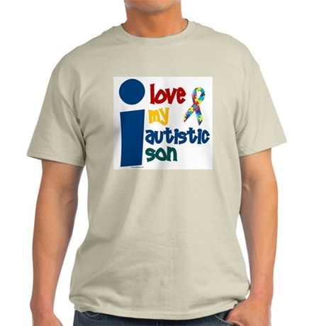 I Love My Autistic Son 1 Light T-Shirt