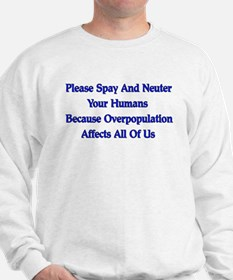 Spay And Neuter Sweatshirt