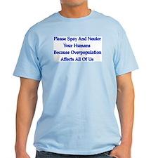 Spay And Neuter T-Shirt