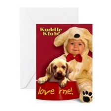 """""""Love Me"""" from Kuddle Klub  Greeting Cards (Packag"""