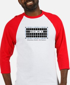 alcohol is the answer Baseball Jersey