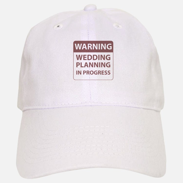 Wedding Plans Baseball Baseball Cap