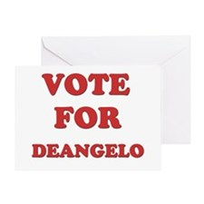 Vote for DEANGELO Greeting Card
