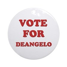 Vote for DEANGELO Ornament (Round)