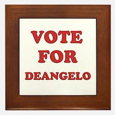 Vote for DEANGELO Framed Tile