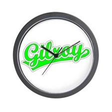 Retro Gilroy (Green) Wall Clock