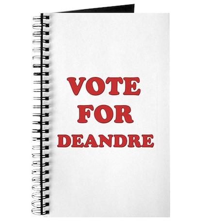 Vote for DEANDRE Journal