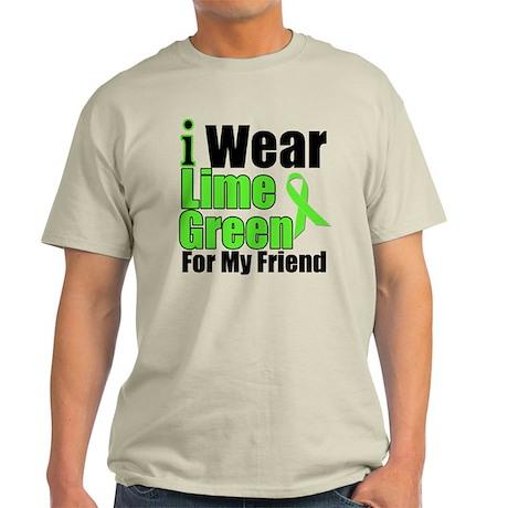 Lime Green Friend Light T-Shirt