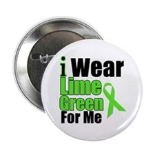 """Lime Green For Me 2.25"""" Button"""