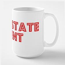Retro Real estate.. (Red) Mug