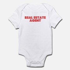 Retro Real estate.. (Red) Infant Bodysuit