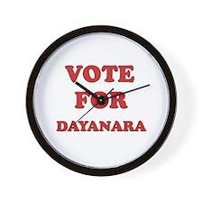 Vote for DAYANARA Wall Clock