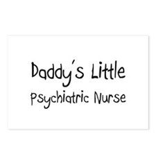 Daddy's Little Psychiatric Nurse Postcards (Packag