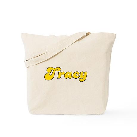 Retro Tracy (Gold) Tote Bag
