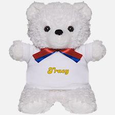 Retro Tracy (Gold) Teddy Bear