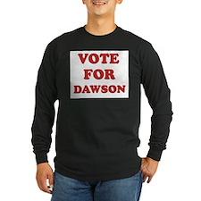 Vote for DAWSON T