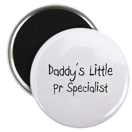 "Daddy's Little Pr Specialist 2.25"" Magnet (10 pack"