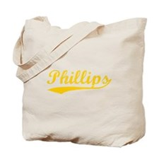 Vintage Phillips (Orange) Tote Bag