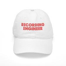 Retro Recording e.. (Red) Baseball Cap