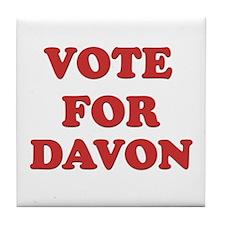 Vote for DAVON Tile Coaster
