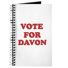 Vote for DAVON Journal