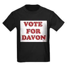 Vote for DAVON T