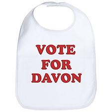Vote for DAVON Bib