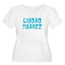 Ciudad Juarez Faded (Blue) T-Shirt