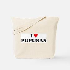 I Love Pupusas Tote Bag