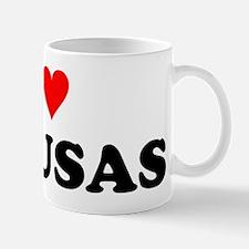 I Love Pupusas Mug
