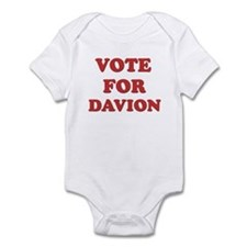 Vote for DAVION Infant Bodysuit