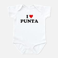 I Love Punta Infant Bodysuit