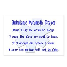 Ambulance Paramedic Prayer Postcards (Package of 8