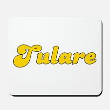 Retro Tulare (Gold) Mousepad