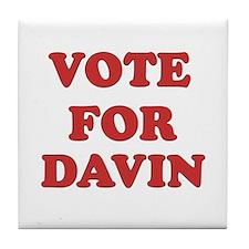 Vote for DAVIN Tile Coaster