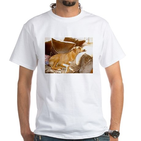 JUBA LEE RIDGEBACK White T-Shirt