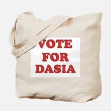 Vote for DASIA Tote Bag