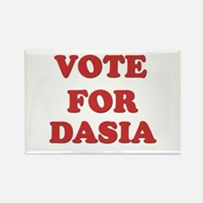 Vote for DASIA Rectangle Magnet