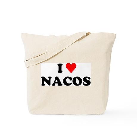 I Love Nacos Tote Bag