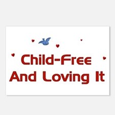 Child-Free Loving It Postcards (Package of 8)